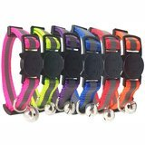 Bemix Pets Reflective Cat Collar with Bell, Set of 3