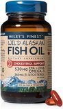Wiley's Finest Wild Alaskan Fish Oil Cholesterol Support